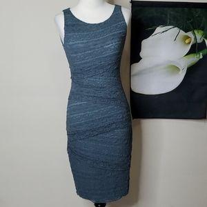 Bailey44 Lace Overlay Bandage Dress